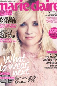 Reese Witherspoon's Marie Claire cover 2011