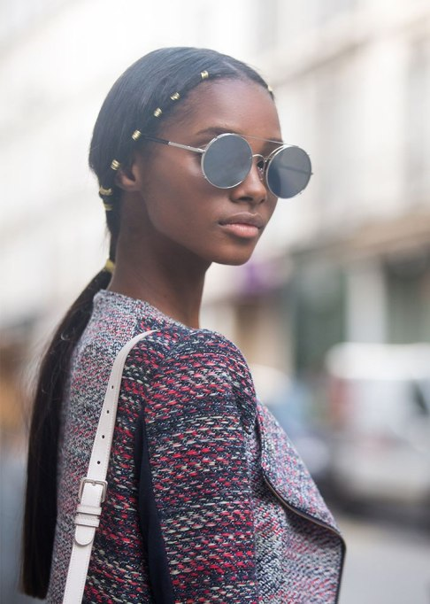 Standout Ways To Style Long Hair | Embellished Twist