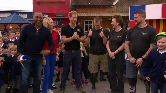 Prince Harry is scarred for life