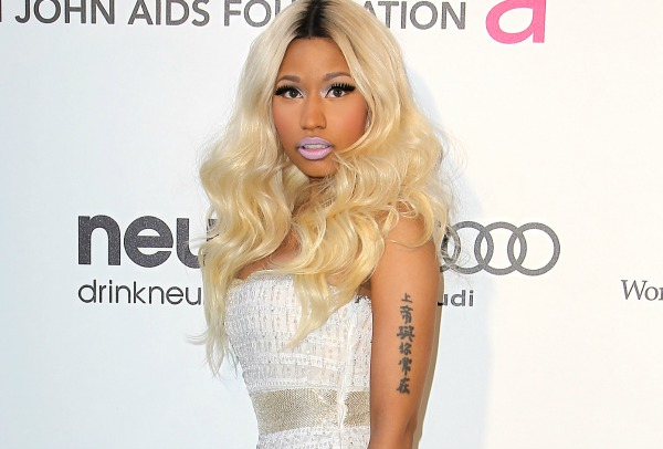 Nicki Minaj tattoo