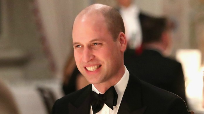 Prince William Warns Girls of the