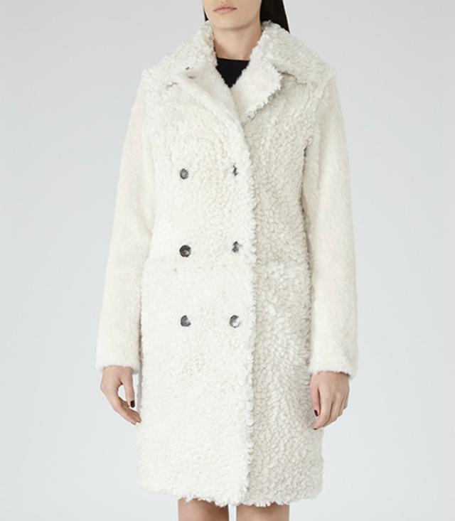 Reiss shearling coat