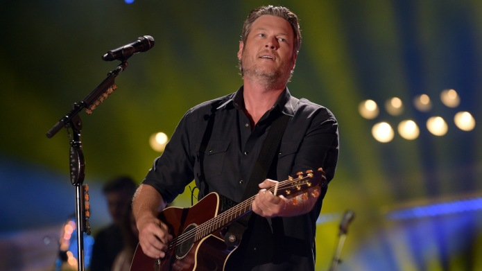 Blake Shelton performs onstage during the