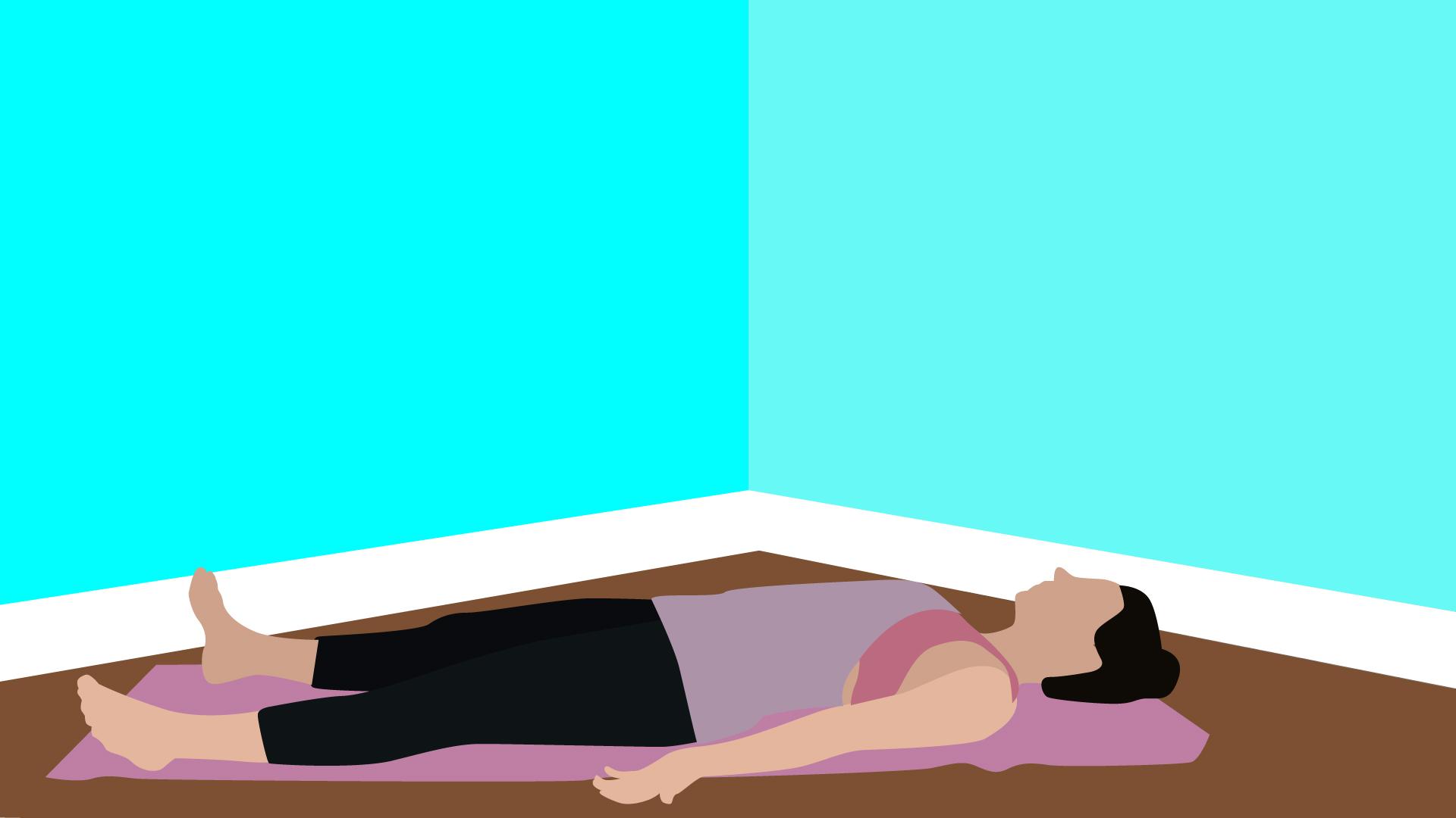 Savasana yoga pose