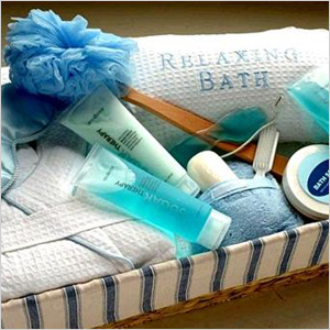 Relaxing bath gift set