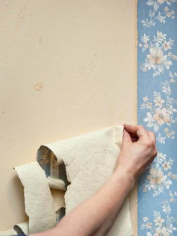 Removing wallpaper