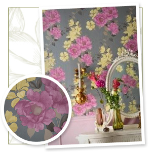 Renew shelving with wallpaper