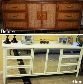 How To Repaint Dresser