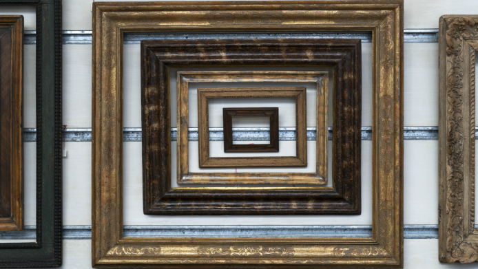 How to Upcycle Old Picture Frames