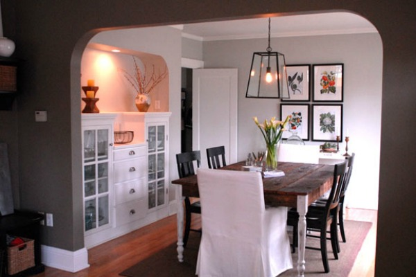 Restored Style dining room