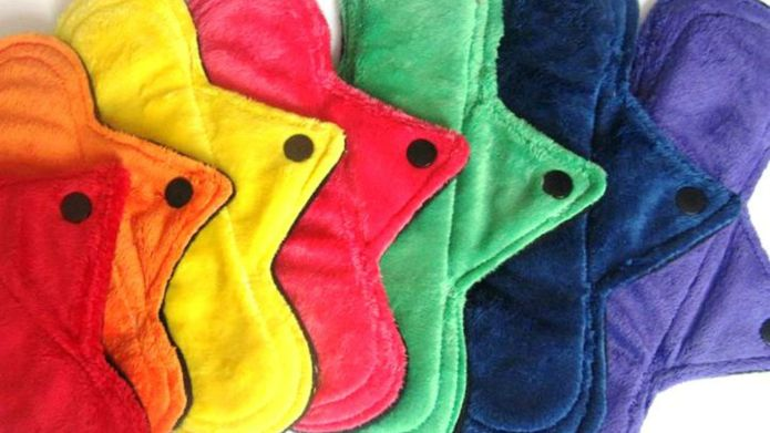 Reusable sanitary pads are becoming a