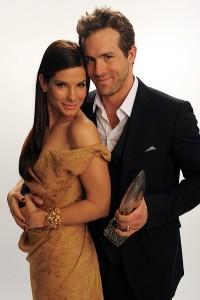Ryan Reynold and Sandra Bullock - not a couple.