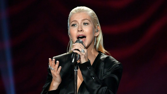 Christina Aguilera Is Working on Something