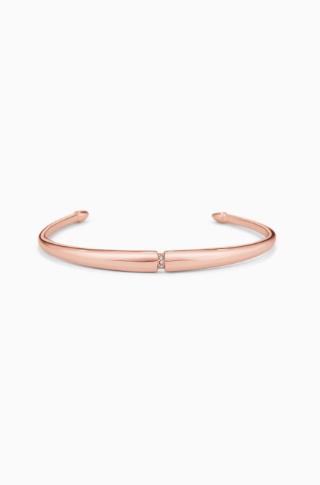 Gorgeous Jewelry Finds That Look Expensive: Pave Inset Cuff | Inexpensive Jewelry Trends