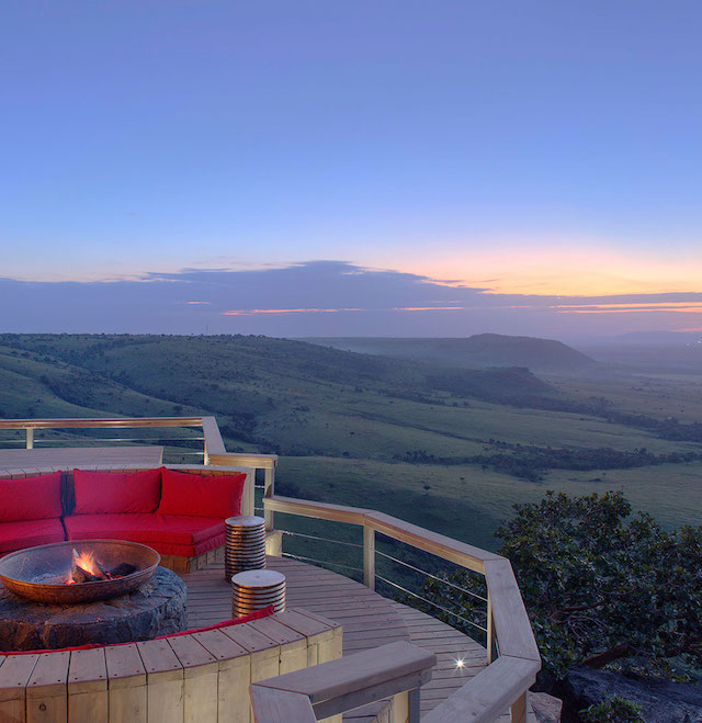 8 Eco-Resorts for Escaping Winter AND Saving the Planet - Angama Mara, Kenya