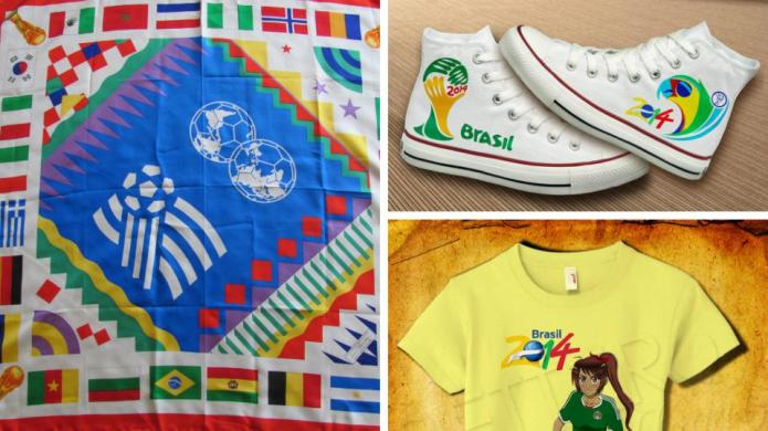 World Cup soccer swag for super