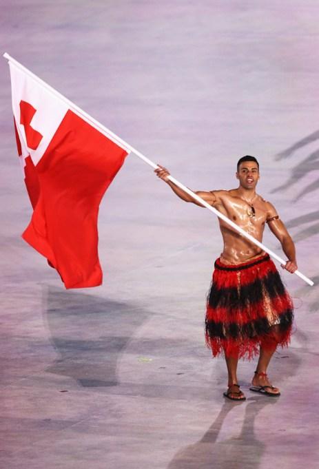 Pita Taufatofua Opening Ceremony Winter Olympics 2018