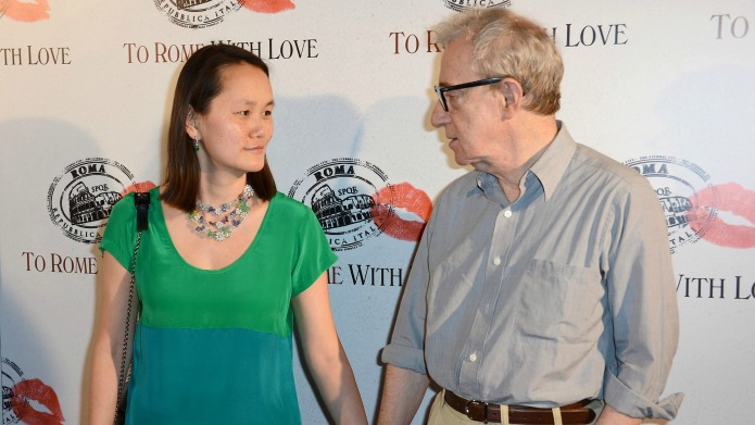 Woody Allen thanked his wife for
