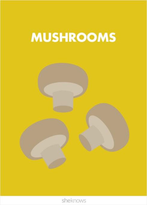 Mushrooms superfood