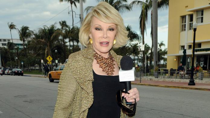 Joan Rivers personal doctor says selfie