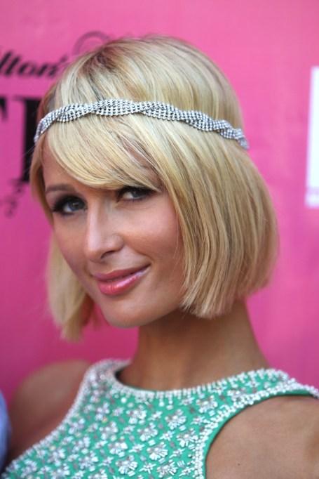 Celebrity Inspired Ways To Wear A Headband | Paris Hilton