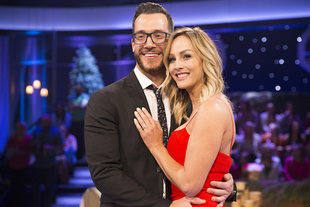 Benoit Beausejour-Savard & Clare Crawley on the 'Bachelor: Winter Games' aftershow