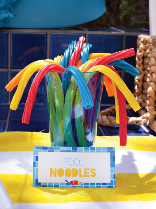 Pool noodles licorice