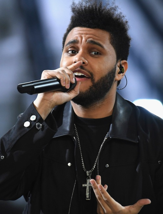 The Weeknd performing 2016 Victoria's Secret Fashion Show
