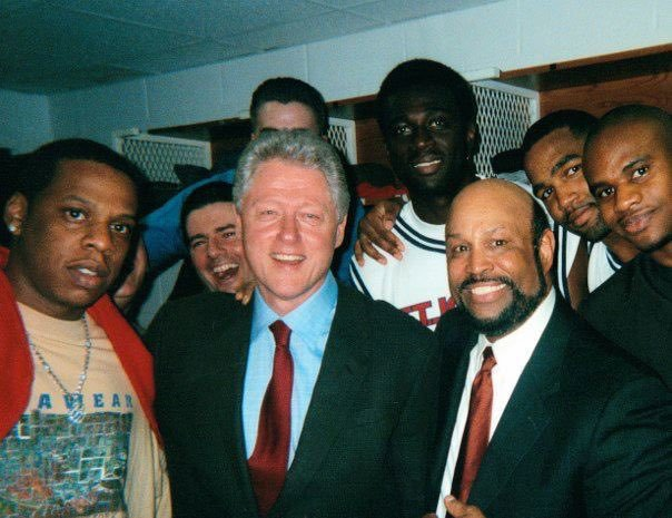 Funniest Bill Clinton photos: Bill Clinton with Jay-Z