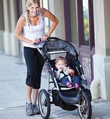 6 Stress-less postpartum weight loss tips