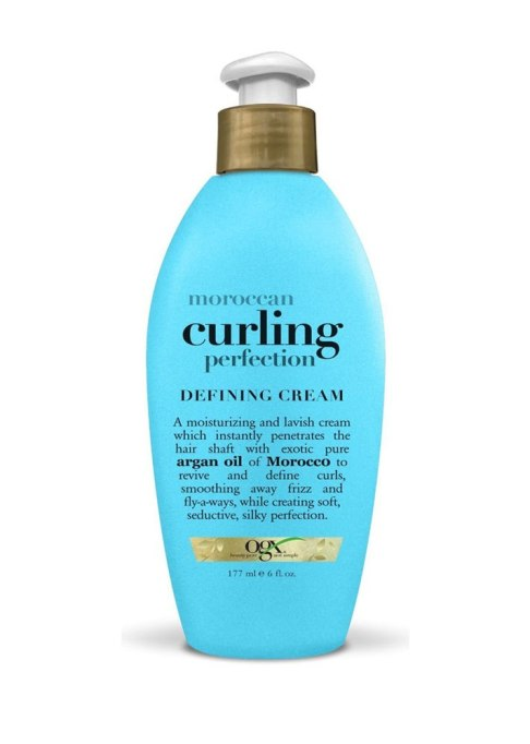 Best Curl-Defining Products for Textured Hair | OGX Morrocan Curling Perfection Defining