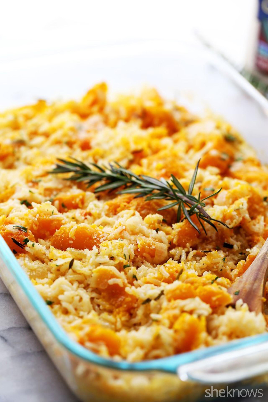 Butternut Squash Rice