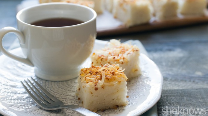 Sweet coconut rice cakes just became