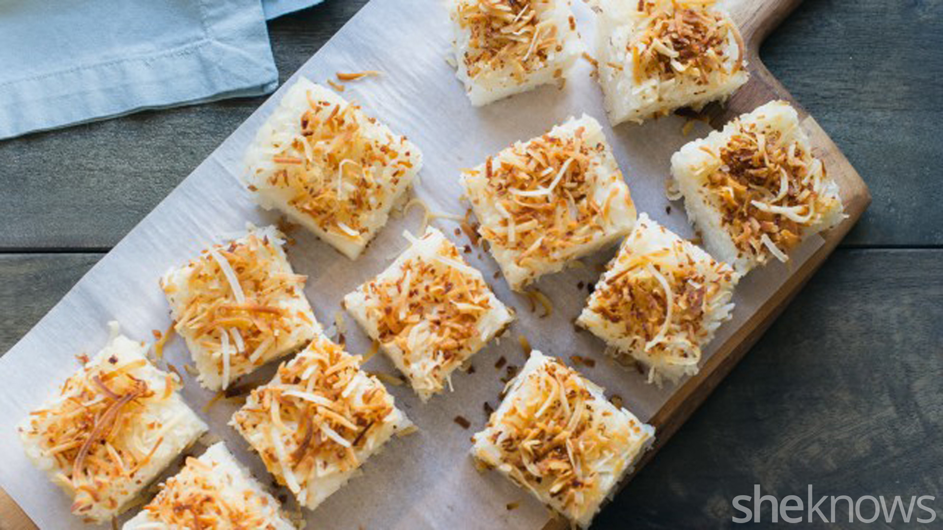Coconut Rice Cakes