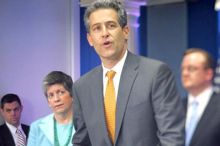 Dr Besser speaks with the Obama White House