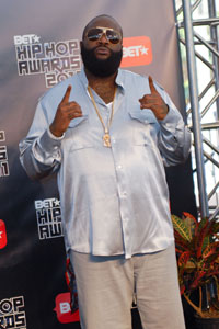 Rick Ross fine after health scare