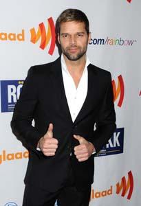 Ricky Martin GLAAD - WENN