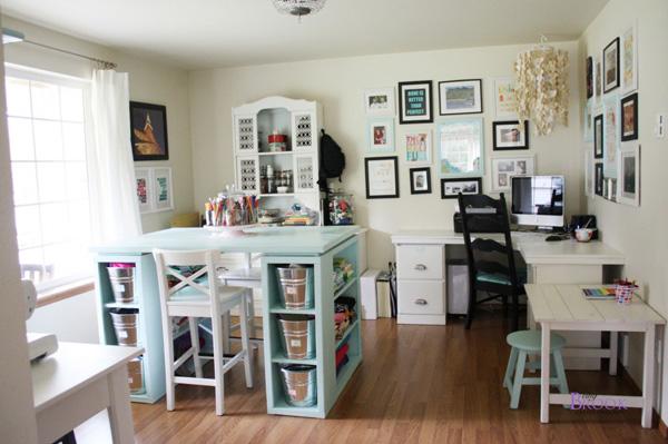 Being Brook's craft room