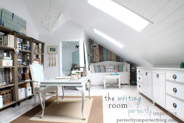 Home office featured on Perfectly Imperfect