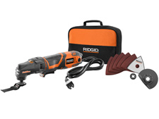 RIGID JobMax 3 Amp Multi-tool Starter Kit