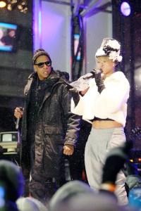 Jay-Z and Rihanna rock Carson Daly's New Year's