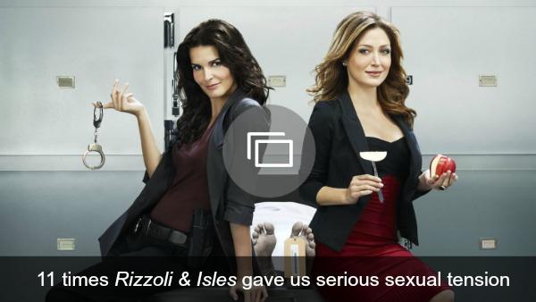 Rizzoli & Isles sexual tension