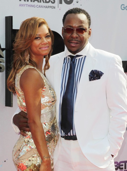 Bobby Brown and wife