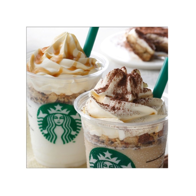 Coffee and White Tiramisu Frappuccino Starbucks