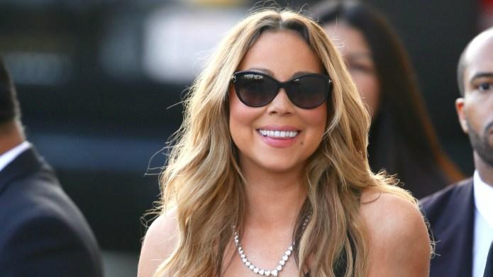 Mariah Carey is just as surprised