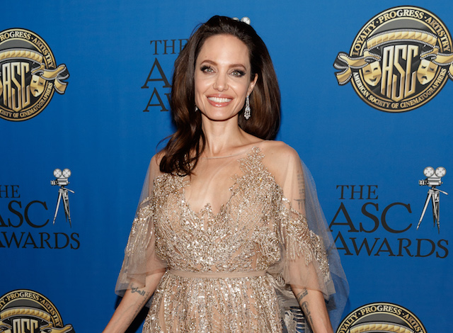 Angelina Jolie attends the 32nd Annual American Society Of Cinematographers Awards