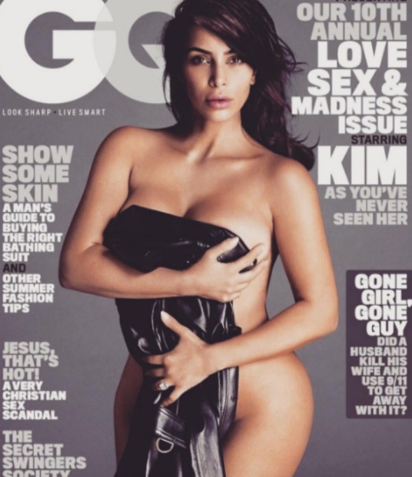 Kim Kardashian GQ magazine cover