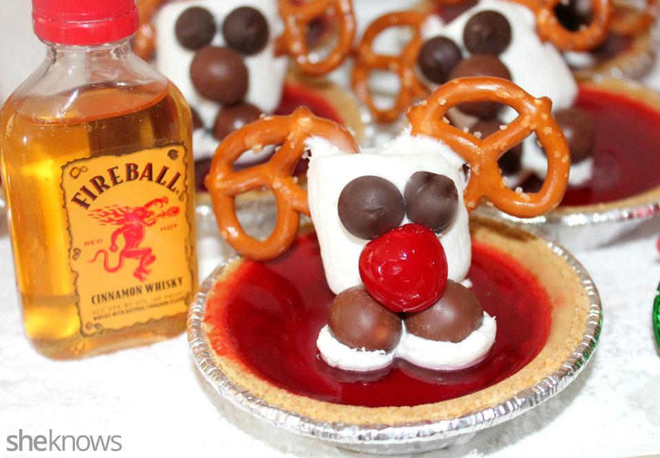 Rudolph Jell-O shots