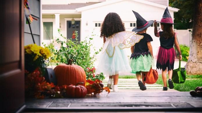 Halloween is for kids, so stop