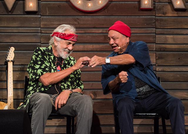 Celebs who love weed: Cheech & Chong